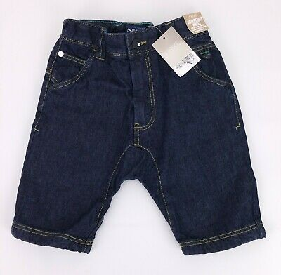 NEXT Boys Clothes Indigo Blue Denim Summer Harem Style Shorts  3 & 5 Years BNWT