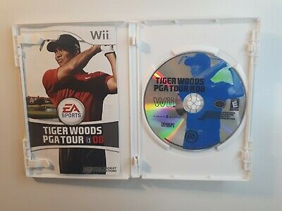 Tiger Woods PGA Tour 08 game for Nintendo Wii - COMPLETE - FAST FREE SHIPPING