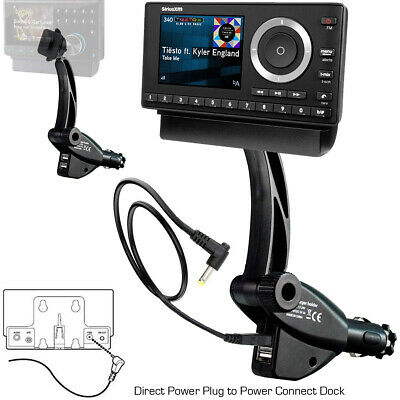 ChargerCity Dual USB Sirius XM Satellite Radio Car Truck Lighter Socket Mount