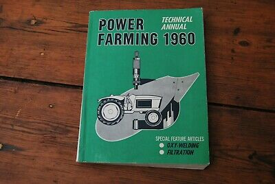 Vintage POWER FARMING TECHNICAL ANNUAL yearly magazine 1960