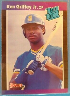 1989 Donruss Ken Griffey Jr Rookie Rc 33 Seattle Mariners