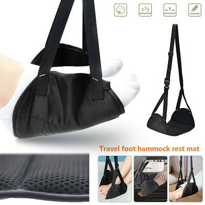 Memory Foam Airplane Footrest Travel Relaxation Carry-On Foot Rest Hammock