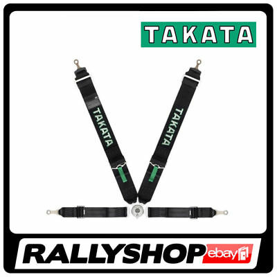 FIA Takata RACE 4 point HARNESS BLACK, CHEAP DELIVERY (Bolt-ON, Rollcage)