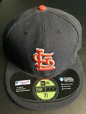 separation shoes 2fa35 f5b4c NEW St. Louis Cardinals New Era 59Fifty MLB Baseball Hat Size 7 5 8