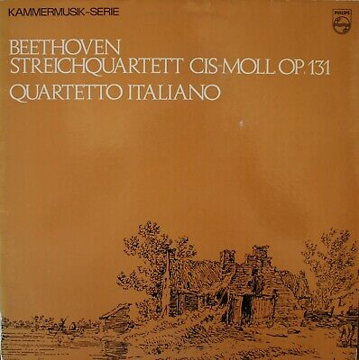 BEETHOVEN: STRING QUARTET No  16, Op  135 / Schubert: String Quartet