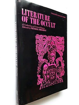 Literature of the Occult Collection of Critical Essays HBDJ POE LOVECRAFT GHOSTS