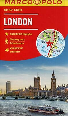 Karte London City.Stadtplan London 1 20 000 Land Karte Deutsch 2017 Eur 6 95