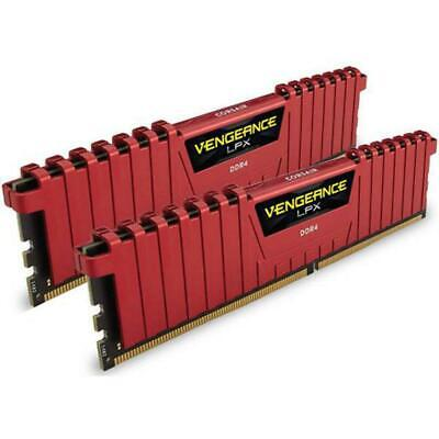 Corsair 16GB DDR4 3200MHz Vengeance LPX Red