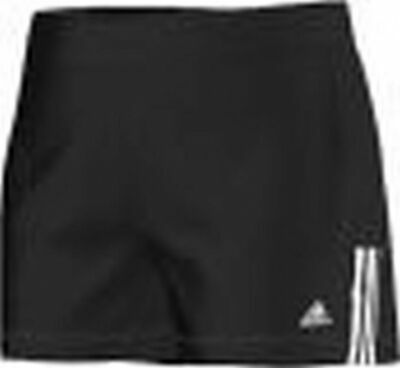 adidas Essentials Girls 'Gear Up Shorts SIZE 110 5-6 YEARS BLACK WHITE SPORTS...