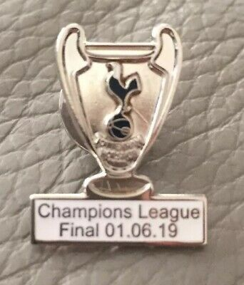 Champions League Madrid Final 2019 Badge Free Postage (UK)