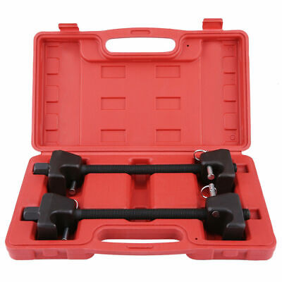 Coil Spring Compressor Heavy Duty Tool Suspension Clamp 2pcs Kit With Case 02V