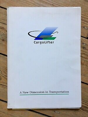 Cargolifter Press pack - Annual Report 1998-1999