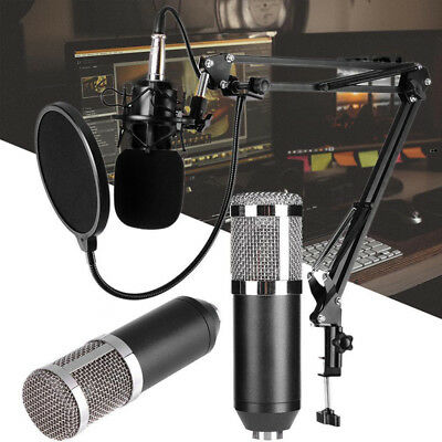 BM800 Dynamic Condenser Microphone Sound Studio KTV Singing Recording PJU