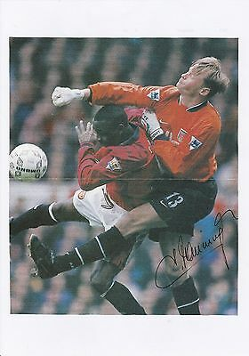 Football Autograph Alex Manninger Arsenal 1997-2002 Original Signed Picture