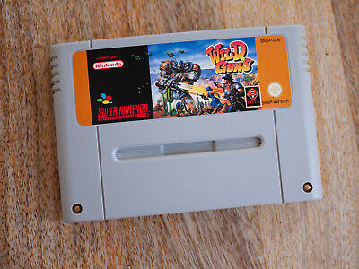 Wild Guns - SNES Super Nintendo Modul - Original