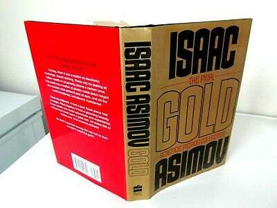 isaac asimov gold  1st edition in d/w