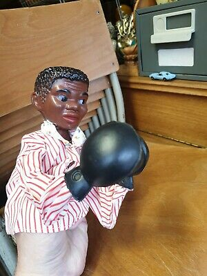 Muhammad Ali Vintage 1970s Boxing Action Hand Puppet - Cassius Clay - boxer.