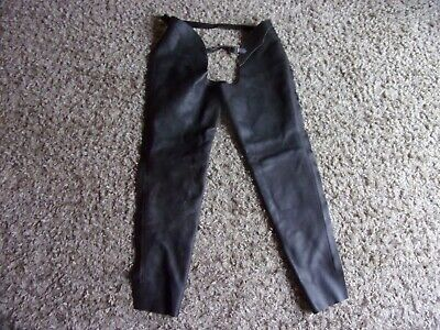 Brown Leather Chaps Size Medium