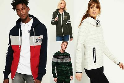 New Superdry Hoodies Selection for Men and Women - Various Styles & Colours 0606