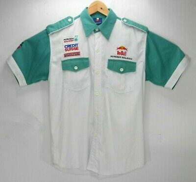 Red Bull Sauber Petronas Malaysia Racing F1 Team Shirt Vintage Large