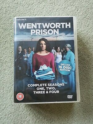 Wentworth Prison Complete Series Collection 1-4 DVD Season 1 2 3 4 UK Release R2
