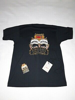 Michael Jackson Dangerous Tour Staff pack  T-Shirt + Backstage Pass.Promo.Rare.