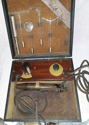 Quack Medicine 'Renulife Violet Ray Generator Model 'M' Made In Detroit Pre1930