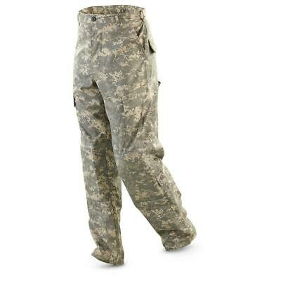 US Military Army Pants Lot ACU Digital Camo Combat Cargo Trousers Large Regular