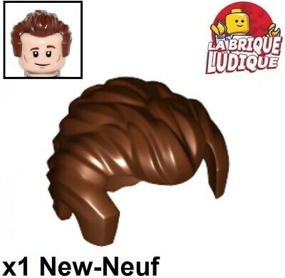 Lego 1x Minifig cheveux coiffure hair long rouge foncé//dark red 62696 NEUF