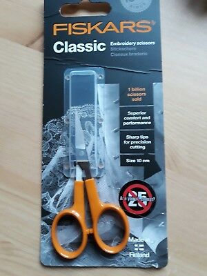 Fiscars Classic Embroidery Scissors 10cm