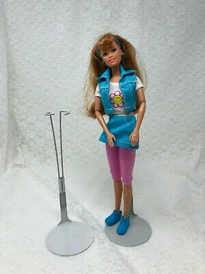 "Metal Doll Stand For Barbie & Similar 11 1/2"" Fashion Dolls"
