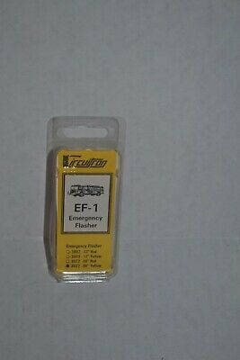 "Circuitron 3023  EF-1 .08"" Yellow Emergency Flasher"