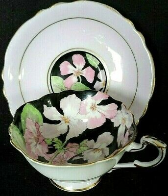Paragon Footed Tea Cup and Saucer Bone China England