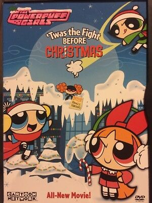 Twas The Fight Before Christmas.The Powerpuff Girls Twas The Fight Before Christmas Dvd