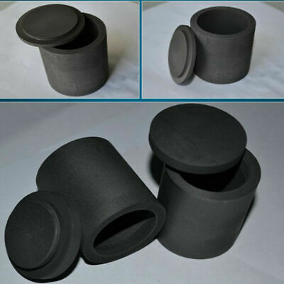 Graphite furnace casting foundry crucible melting tool Ingot Mould with lid lot