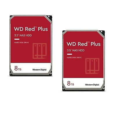 WD Red 2er Set WD80EFAX - 8TB 5400rpm 256MB 3.5zoll SATA600
