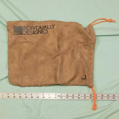 Authentic Nike ID Suede Dust/Sleeper/Shoe Bag Brown w/ Orange Accents dq