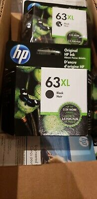 HP 63XL F6U64AN High Yield Black Original Ink Cartridge  EXP 03/21 officejet