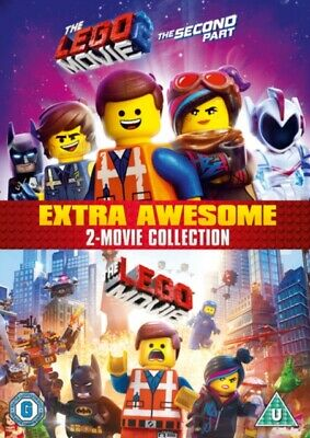 The LEGO Movie: 2-film Collection *NEW* DVD