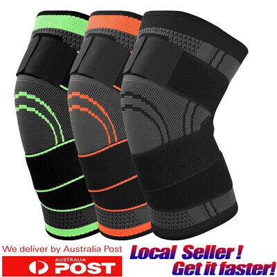 Knee Support Brace Arthritis Sleeves Patella Guard Running Sports Joint Pain CFR