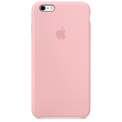 Apple Custodia Cover Per Iphone 6 E 6S Silicone Case Originale Pink - Rosa