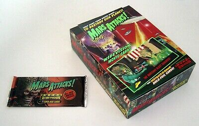 Mars Attacks! Topps Widevision Movie Cards - Box of 36 Unopened Packs - 1996
