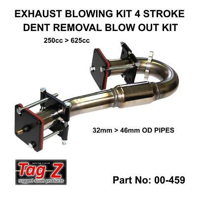 Tag-Z Exhaust 4 Stroke Dent Blowing Out Kit Remove Dents Gain Horsepower