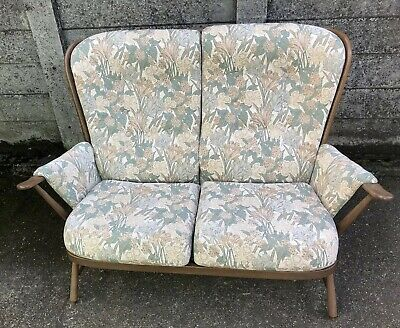 Fine Modern Ercol 2 Seater Evergreen Sofa Golden Dawn Delivery Service Available