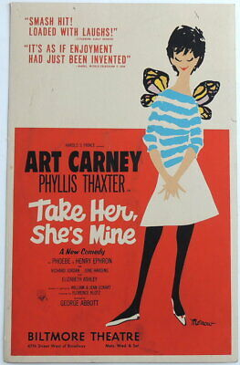 Image result for take her she's mine broadway poster