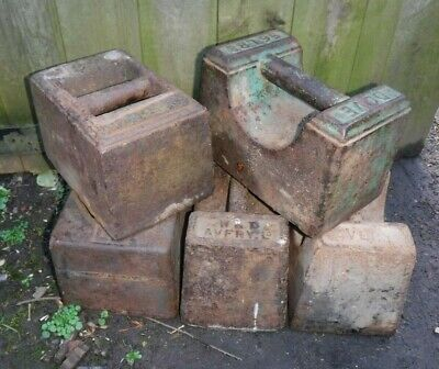 Vintage Cast Iron 56LB Weight- Many Available (189M)