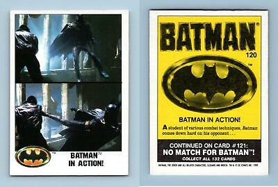 Batman In Action #120 Batman 1989 Topps Trading Card