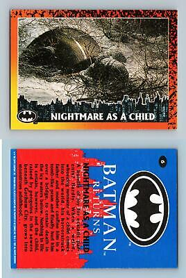 Nightmare As A Child #6 Batman Returns 1992 Topps Trading Card