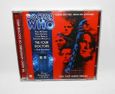 Doctor Who The Four Doctors Big Finish Audio Drama CD Subscriber Exclusive