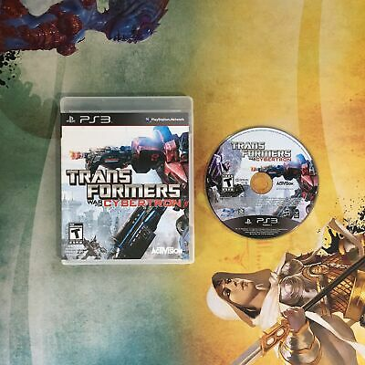 Transformers: War for Cybertron • Sony PlayStation 3 PS3